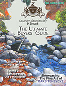 Absolutely the Best of Southern Georgian Bay Fall edition 2013 Cover
