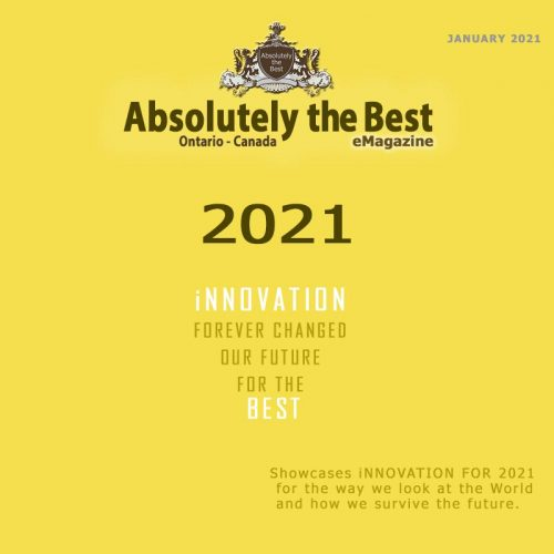 Front Cover for Absolutely the best eMagazine January 2021 edition