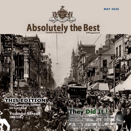 Front Cover for Absolutely the best eMagazine May edition 2020