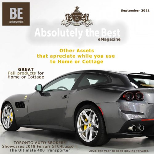 Absolutely the Best eMagazine September 2021 Front Cover