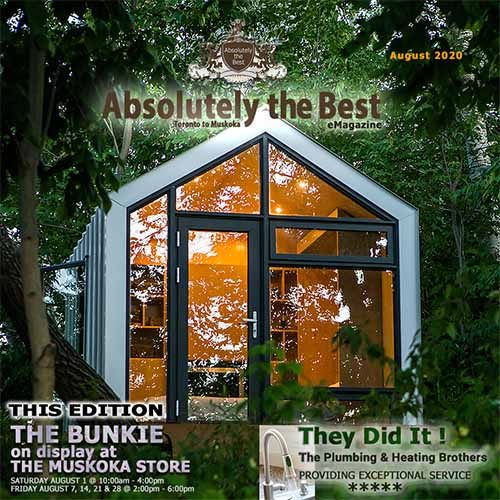 Absolutely the Best eMagazine August 2020 edition - Front Cover